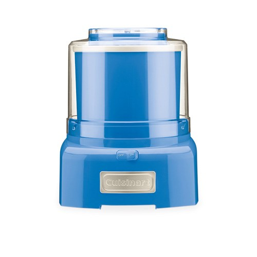 cuisinart ice cream yoghurt maker 1 5l tropical blue reviews and
